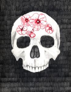 fleurs fatales (skull)
